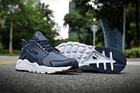 Nike Air Huarache Leather Blue, фото 1