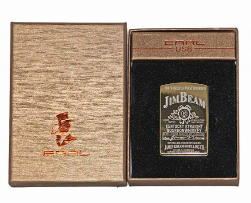 Зажигалка USB Jim Beam