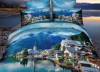 Постельное белье Word of Dream H1590 Город Двуспальный евро комплект