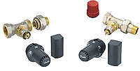Комплект: терморегулятор FTC 15-50°С + прямой термоклапан RA-N