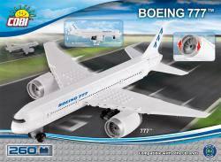 Конструктор COBI Самолет Boeing-777, 260  деталей COBI-26261