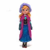 Плюшевая кукла Анна Холодное Сердце