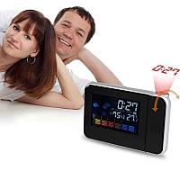 Проекционные часы Color Screen Calendar, фото 1
