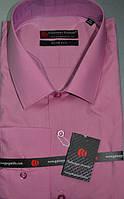 Сиреневая приталенная рубашка GUISEPPE GENTILE (размеры S.M.L.XL.XXL)