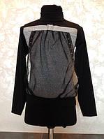 Нарядная блуза  для девочек с люрексом