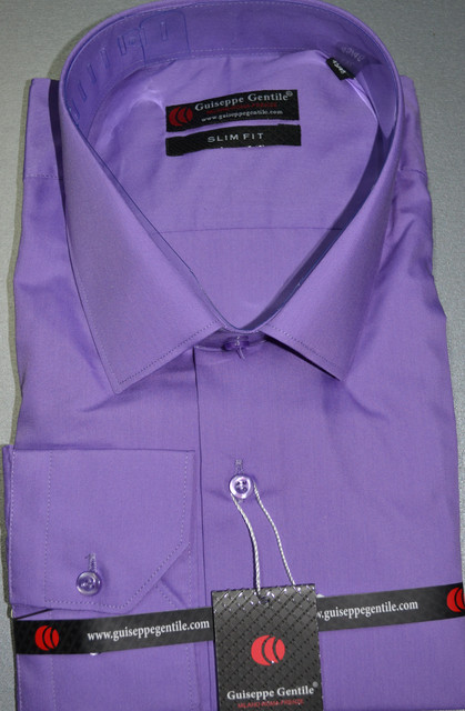 Приталенная рубашка GUISEPPE GENTILE (размеры S.M)
