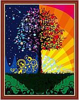 Картина по номерам 'Дерево счастья', 40х50см (КНО224)