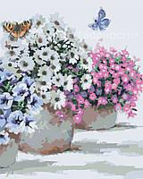 Картина по номерам 'Цветы в горшочках', 40х50см (КН2933)