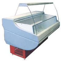 Морозильная витрина Siena шириной 1,1 м Росс. Холодильное оборудование для магазинов