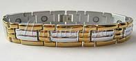 Лукас Т 145 — титановый магнитный браслет, фото 1