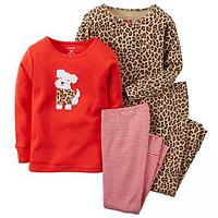 Комплект детских пижам для девочки Carters Собачка, Размер 5T, Размер 5T
