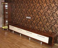 Мебель в гостинную из гнутого МДФ