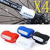 Led, светодиодная подсветка для велосипеда на раму, багажник. Задний светодиодный фонарь, велофонарь