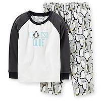 Флисовая пижама для мальчика Carters Пингвины