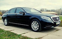 Аренда представительского класса. Mercedes W222 S500 Long blасk.