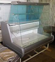 Кондитерская витрина Siena-K  шириной 0,9 м с плоским стеклом Росс.  Холодильное оборудование для магазинов