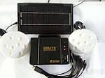 Набор ламп с солнечной батареей GDLITE GD-8006.