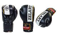 Перчатки боксерские FLEX на липучке (12oz,черный)