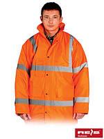 Зимняя куртка со светоотражающими полосами K-VIS [P]