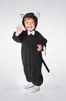 Детский карнавальный костюм «КОТИК ЧЕРНЫЙ» рост 80-86
