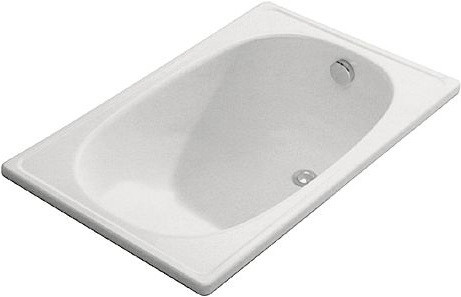 Стальная ванна Aquart Mini 105х70 с сидением и без Португалия