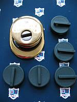 Броненакладка магнитная DISec МR 129-25D1-5  (поворотная h-25mm)