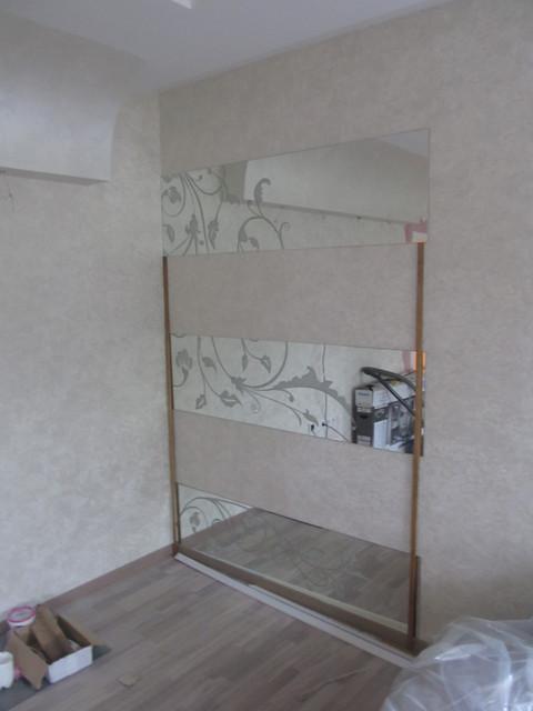 Зеркало с художественным пескоструем - Стекольная компания Vitrum в Киеве