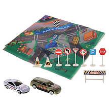 """Игровой коврик с машинкой и знаками дорожного движения """"Мой город"""", 69х78,5 см «Big Motors» (89631), фото 2"""