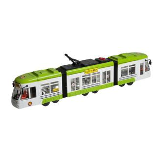 """Городской трамвай """"City Tram"""", 46 см (зелёный) «Big Motors» (1258)"""