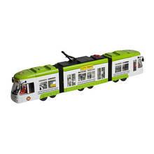 """Игрушечные машинки и техника «Big Motors» (1258) городской трамвай """"City Tram"""", 46 см (зелёный)"""
