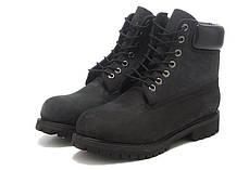 Timberland женские ботинки черные топ реплика, фото 3
