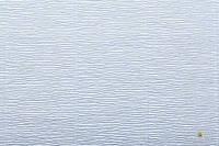Гофрированная бумага небесный голубой (50 х 250 см)