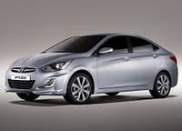 Лобовое стекло Hyundai Accent IV,Хюндай Акцент(2011-)AGC