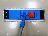 Швабра для влажной уборки на кнопках 45 см