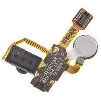 Шлейф с разъемом наушников и слуховым динамиком для Samsung S5560 Original
