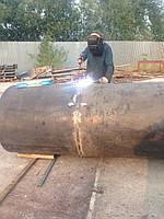 Подготовка к сварке при изготовлении резервуаров и дымовых труб