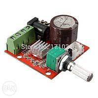 Аудио Усилитель стерео на базе PAM8610 Класса D 2х10Вт DC-12В