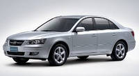 Лобовое стекло Hyundai NF,Хюндай(2005-)AGC