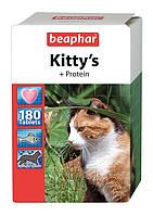 Витамины БЕАФАР Китис Протеин коти таб №180 рыбки (Beaphar)