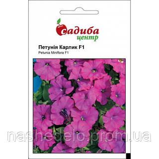Петуния Карлик F1 фиолетовая 10 гранул Садыба Центр