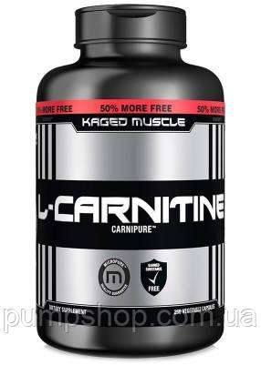 Л-карнитин Kaged Muscle L-Carnitine 120 капсул (750 мг)