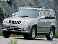 Лобовое стекло Hyundai Terracan,Хюндай Теракан(2001-)AGC