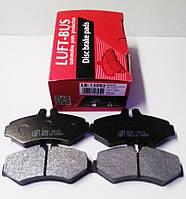 Задние тормозные колодки MERCEDES Sprinter 208-316 96- (BOSCH)