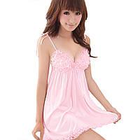 Сексуальный пеньюар розового цвета, фото 1