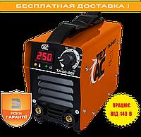 Сварочный аппарат ММА 250 6,4кВа c дисплеем ТехАС