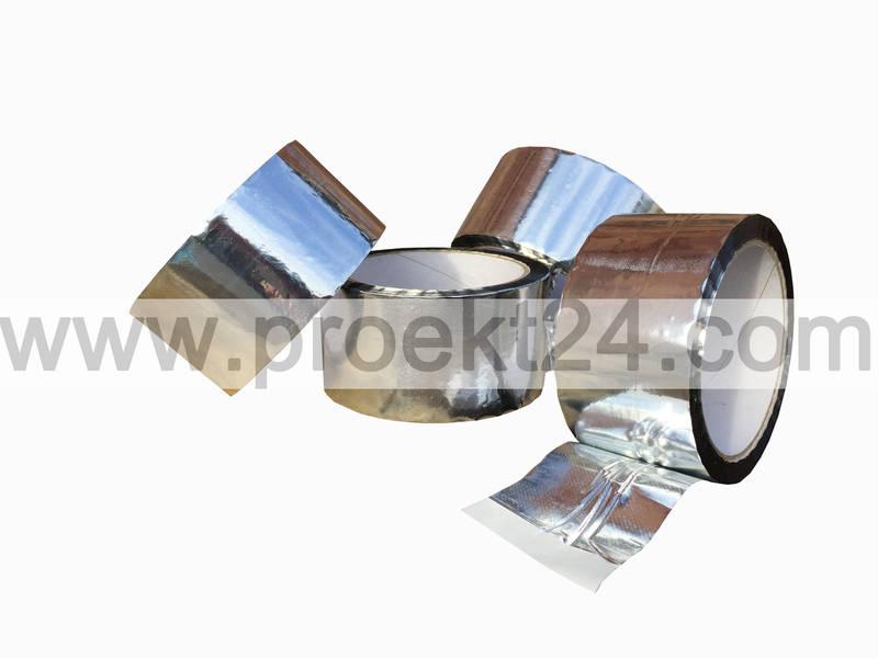 скотч, скотч фольгированный, фольгированный скотч, алюминиевая лента