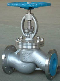 Клапан (вентиль) запорный нержавеющий 15нж65бк (15нж65нж)