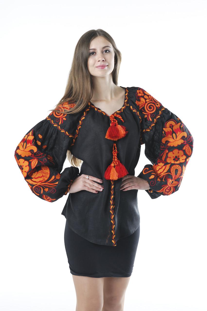 Блуза жіноча Птахи