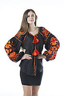 Блуза жіноча Птахи, фото 1