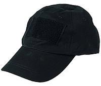 Кепка, бейсболка MilTec Rip Stop Black 12319002